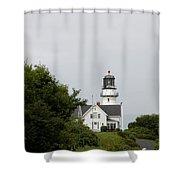 Cape Elizabeth Light I Shower Curtain