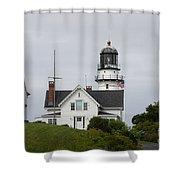 Cape Elizabeth Light II Shower Curtain
