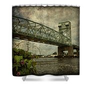 Cape Fear Morning Glory Shower Curtain