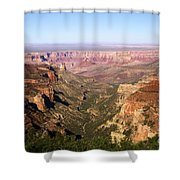 Cape Final Canyon View Shower Curtain