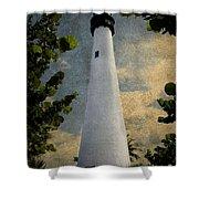 Cape Florida Lighthouse 1 Shower Curtain