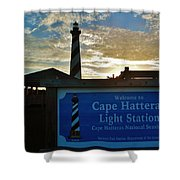 Cape Hatteras Lighthouse 2 11/05 Shower Curtain