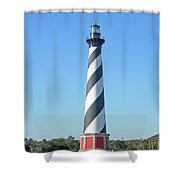 Cape Hatteras Lighthouse - Outer Banks Nc Shower Curtain