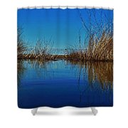 Cape Hatteras Lighthouse Water Reflection 2 3/01 Shower Curtain