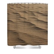Cape Hatteras Ripples In The Sand-north Carolina Shower Curtain