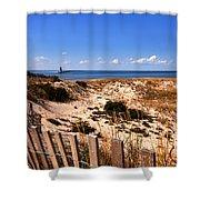 Cape Henlopen Overlook Shower Curtain