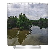 Cape Island Wildlife Refuge - Cape May New Jersey Shower Curtain