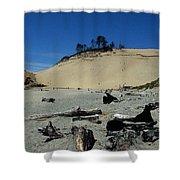 Cape Kiwanda Sand Dune Shower Curtain