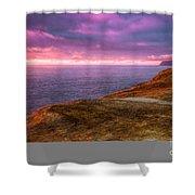 Cape Kiwanda Sunset Shower Curtain
