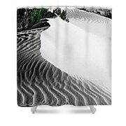 Cape Le Grande Sand Dune Shower Curtain