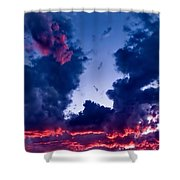 Cape Le Grande Sunset Shower Curtain