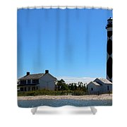 Cape Lookout Approach Shower Curtain