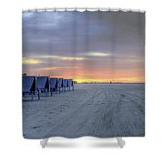 Cape May At The Crack Of Dawn Shower Curtain