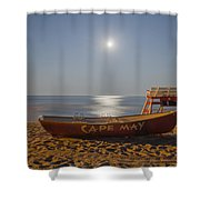 Cape May By Moonlight Shower Curtain