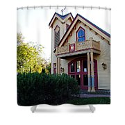 Cape May Fire Company Shower Curtain