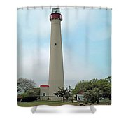 Cape May Lighthouse One Shower Curtain