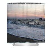 Cape May Sunset Beach Nj Shower Curtain