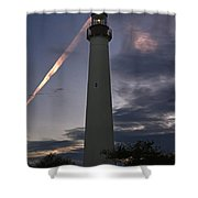 Cape May Sunset Shower Curtain