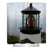 Cape Meares Light Shower Curtain