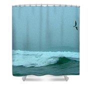 Cape Mist Shower Curtain