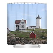 Cape Neddick Lighthouse - Me Shower Curtain