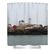 Cape Neddick - Nubble Light 2 Shower Curtain