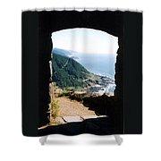 Cape Perpetua Shower Curtain