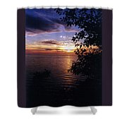 Cape Perpetua Sunset Shower Curtain