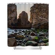 Cape Roca I Shower Curtain
