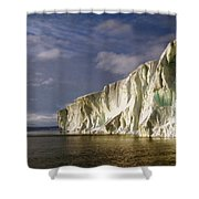 Cape Roget Antarctica In The Midnight Sun Shower Curtain