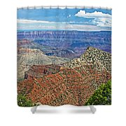 Cape Royal Two On North Rim Of Grand Canyon-arizona Shower Curtain