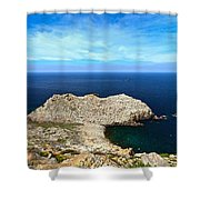Cape Sandalo - Carloforte Shower Curtain