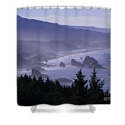 Cape Sebastian Shower Curtain