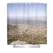 Cape Town Panoramic Shower Curtain