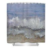 Cape Winds Wave Shower Curtain