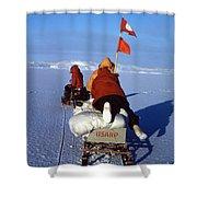 Capeevans-antarctica-g.punt-3 Shower Curtain
