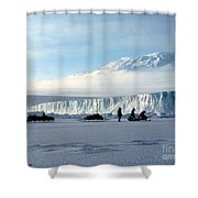 Capeevans-antarctica-g.punt-7 Shower Curtain