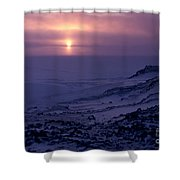 Capeevans-antarctica-g.punt-8 Shower Curtain