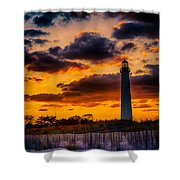 Capes Burning Shower Curtain