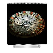 Capital Building Stained Glass 2 Shower Curtain