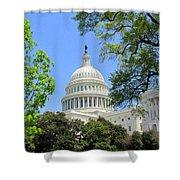 Capital Hill Shower Curtain