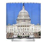 Capital Idea Shower Curtain