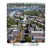 Capital Of Maryland In Annapolis Shower Curtain