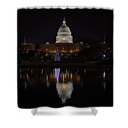 Capitol Christmas - 2012 Shower Curtain