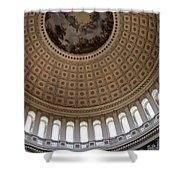 Capitol Cupola Washington Dc Shower Curtain