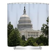 Capitol Dome  Washington Dc Shower Curtain