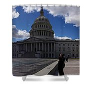 Capitol Early Spring Shower Curtain