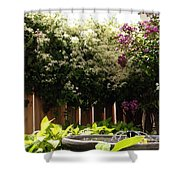 Capitol Hill Secret Garden Shower Curtain