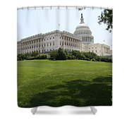 Capitol Hill View Washington Dc Shower Curtain