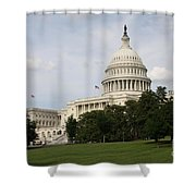 Capitol Hill Washington Dc Shower Curtain